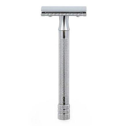 Merkur 23C Long Handle DE Safety Razor