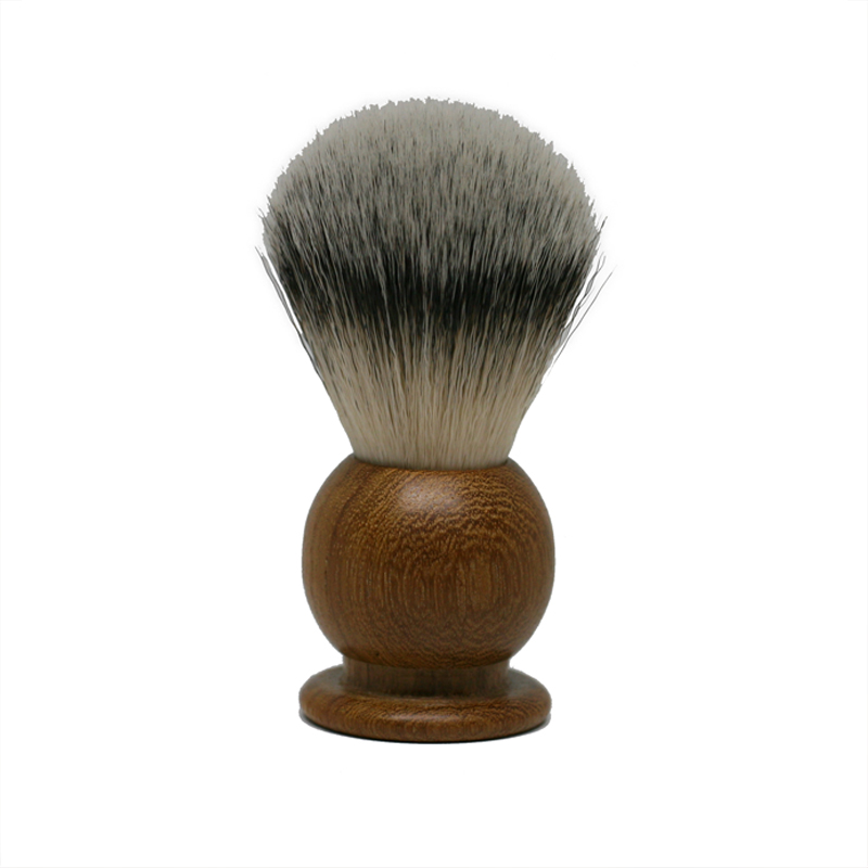 'Cutty Sark' Teak Shaving Brush with Silvertip Fibre Bristles
